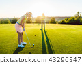 golf, course, player 43296547