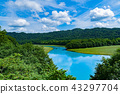 풍경, 경치, 여름 43297704