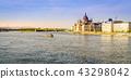 The Danube River in Budapest 43298042