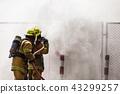 Fireman on the fire 43299257