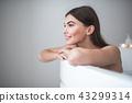 woman, bath, relax 43299314
