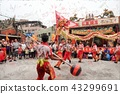 Taiwanese temple festival 43299691
