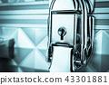 old metal keyhole 43301881