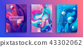Set of Abstract gradient backgrounds. 43302062