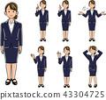 女商人擺在_套七種類型 43304725