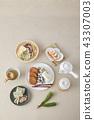전통음식,다기,전통,한국 43307003