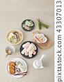 傳統食品,茶道,傳統,韓國 43307013