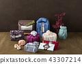 縐 Furoshiki 手袋 43307214