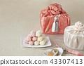유과,보자기,선물 43307413
