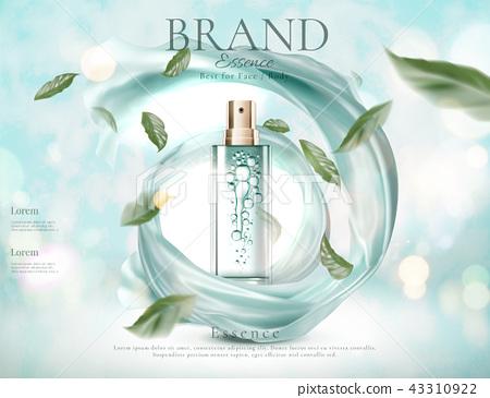 Refreshing skincare spray ads 43310922
