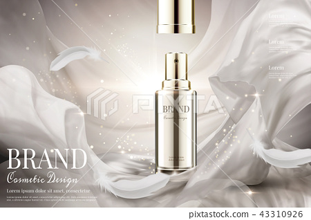 Open lid skincare spray ads 43310926