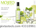 Refreshing mojito ads 43310961