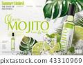 Refreshing mojito ads 43310969