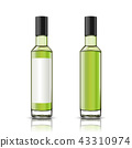 Set of blank glass bottle 43310974