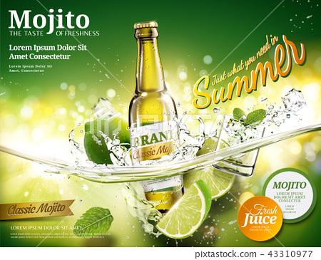 Refreshing mojito ads 43310977