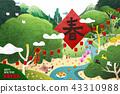 Happy Chinese new year 43310988
