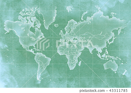 Hand drawn map old map texture 43311785