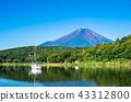 富士山 世界遺產 山中湖 43312800