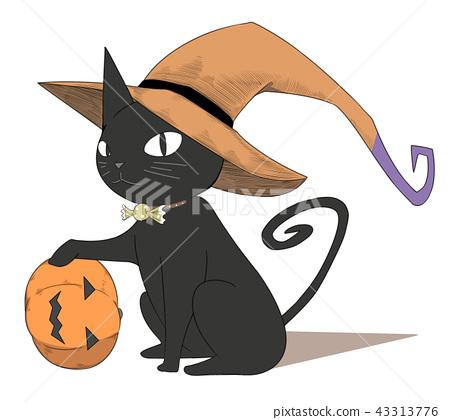 할로윈 2 (검은 고양이) 43313776