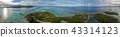 French Polynesia Taha Bora Bora aerial view 43314123