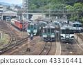 JR 도쿠시마 역의 조차장 풍경 43316441