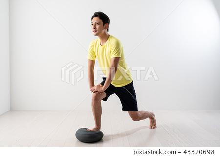 運動,健身,平衡球,平衡板,坐墊 43320698