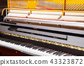 piano with open strings 43323872
