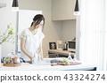 ผู้หญิงในห้องครัว 43324274