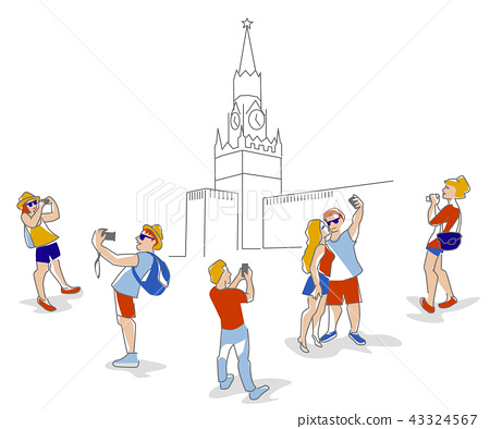 travelers in Moscow 43324567