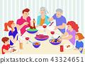 family dinner 43324651