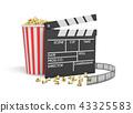영화, 팝콘, 3d 43325583