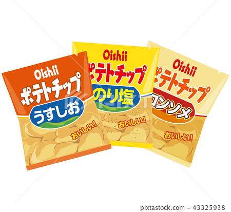薯片 糖果 甜食 43325938