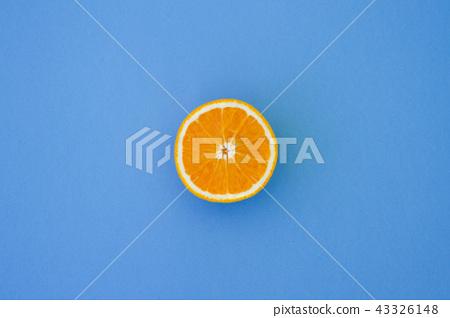 Minimal Orange Top View 43326148