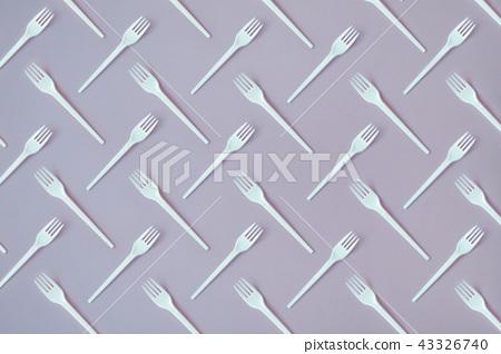 Fork Flat Lay Pattern 43326740