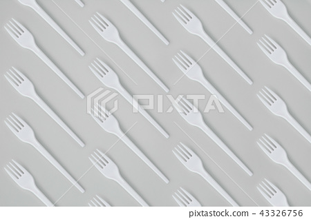 Fork Flat Lay Pattern 43326756