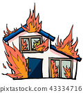 fire, housing, residential 43334716