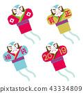 風箏 放風箏 日本風箏 43334809