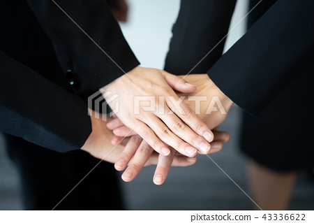 Cooperation business team united business woman 43336622
