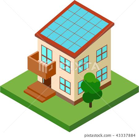 太陽能發電/房屋 43337884