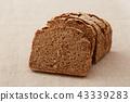 호밀 빵 43339283