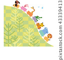animal, animals, illustration 43339413