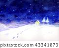 Winter landscape winter 43341873