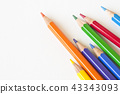 colorful pencil 43343093