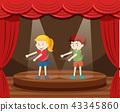 dance dancing curtains 43345860