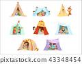 tent, fun, kid 43348454