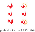 Rooster Logo Template 43350964