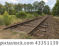Old railway line Borkense Course in Netherlands. 43351139