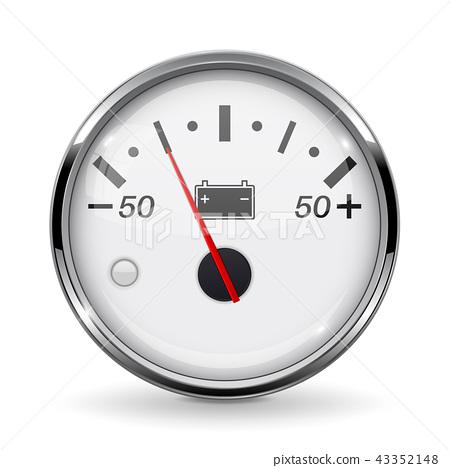 Accumulator gauge. Low level 43352148