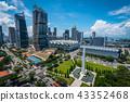 Singapore city skyline of business downtown 43352468