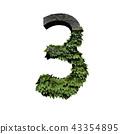 Stone foliage number 3 43354895